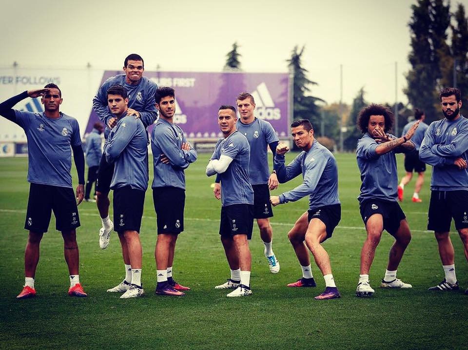 MATCHDAY  Real Madrid Training