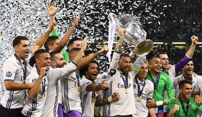 real madrid champions league siege