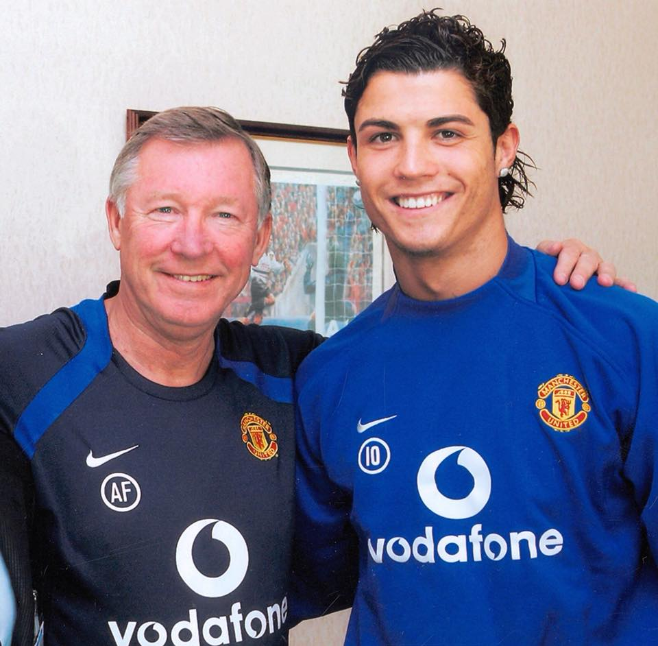 2018-05-06-CR7-and-Sir-Alex-Ferguson