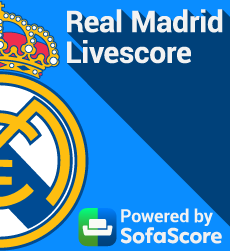 Real Madrid Livescore powered by SofaScore
